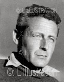 Portrait en 1947 de l'explorateur français Paul-Emile Victor