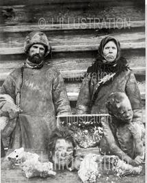 La sécheresse en Russie, été 1921, à la suite d'une sécheresse particulièrement dramatique, la famine est total dans une grande partie de la Russie des soviets, 33 millions d'hommes souffrent de la faim, et 15 millions d'entre eux sont condamnés à