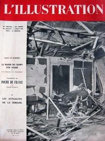 N° 5290-5291 du 28 juillet au 5 août 1944, souvent considéré comme le dernier numéro de L'Illustration.