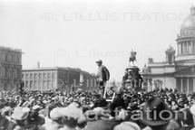 Manifestation lors de la révolution russe de 1917