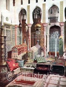 La mosquée, au second étage de la maison de Pierre Loti, à Rochefort