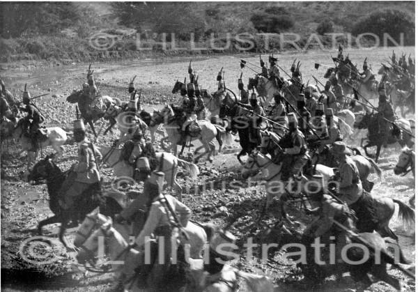 Guerre italo-ethiopienne : armée italienne d'Erythrée, 1935