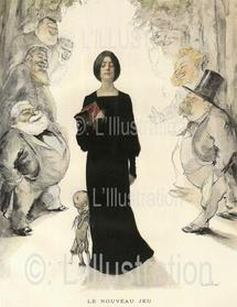 Le nouveau jeu, vision de Leandre du de la comédie, du théâtre et de l'opéra, 1897.