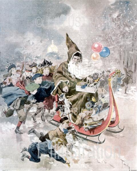 Couverture du numéro de Noël 1895, par Tofani