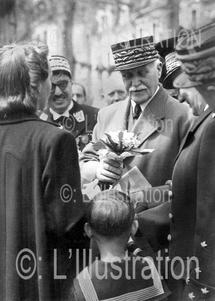 Célébration de la Fête du Travail, le 1er mai 1941.