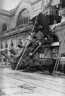 Accident de la gare Montparnasse, 1895