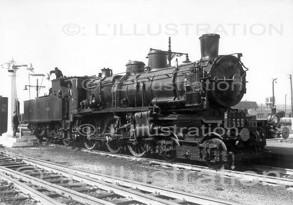 Locomotive à vapeur, 1920