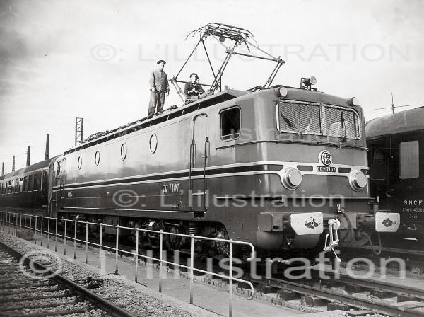 Locomotive de la SNCF, 1950