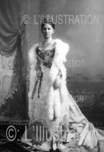 La Reine Wilhelmine de Hollande, 1898