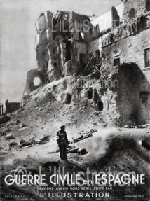 Numéro spécial de L'Illustration sur la guerre civile espagnole, 1937