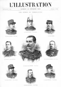 La prise de Tombouctou, en 1894, en une de L'Illustration