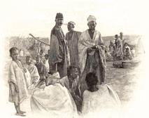 1896 - Tombouctou - Le commissaire de police sur le marché