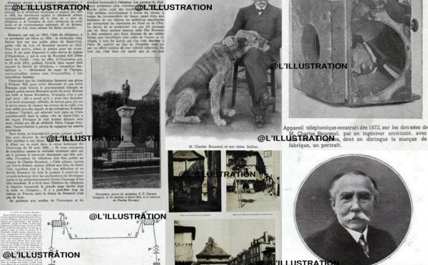Centenaire du décès de Charles Bourseul, inventeur du téléphone.